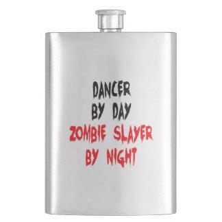 Bailarín del asesino del zombi cantimploras