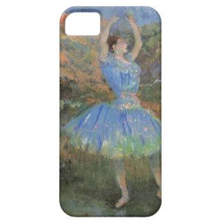 Bailarín del azul de Edgar Degas iPhone 5 Fundas
