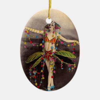 Bailarín del casino de Parisienne Ornamentos Para Reyes Magos
