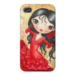 """""""Bailarín del flamenco """" iPhone 4 Carcasas"""