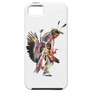 Bailarín del nativo americano Prisionero de iPhone 5 Fundas