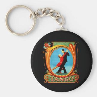 Bailarín del tango llavero personalizado