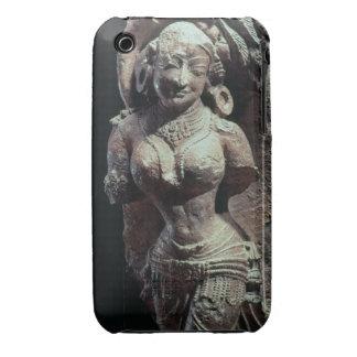 Bailarín, del templo de Sun de Kanara, indio, 13t iPhone 3 Cárcasas