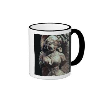 Bailarín, del templo de Sun de Kanara, indio, 13t Taza De Café