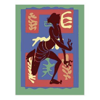 Bailarín del vudú después de Matisse Tarjetas Postales