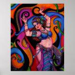 Bailarín del zafiro poster