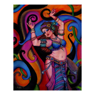 Bailarín del zafiro póster