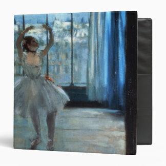 """Bailarín delante de una ventana c.1874-77 carpeta 1 1/2"""""""