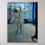 Bailarín delante de una ventana c.1874-77 impresiones