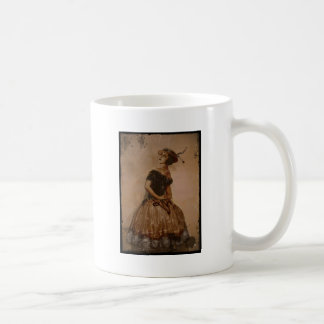 Bailarín descarado del vintage taza clásica