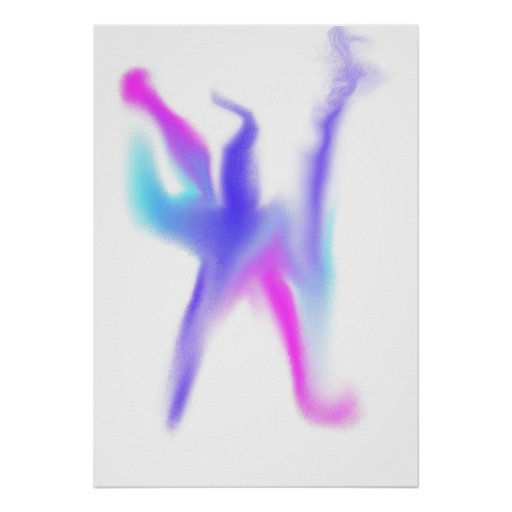 Bailarín egipcio de la antorcha impresiones