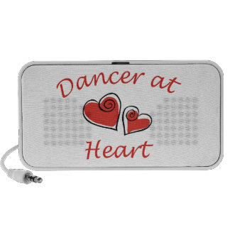 Bailarín en el corazón mp3 altavoces