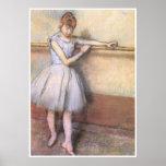Bailarín en la barra, C. 1880, Edgar Degas Impresiones