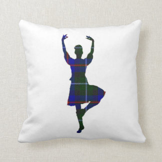 Bailarín escocés de la montaña de doble cara cojín
