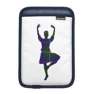 Bailarín escocés de la montaña funda iPad mini