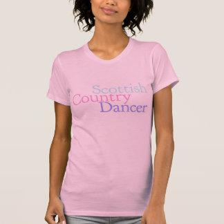 Bailarín escocés del país playeras