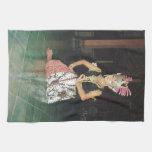 Bailarín exótico de Golek del indonesio Toallas De Mano