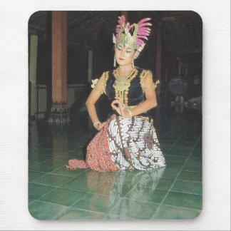 Bailarín exótico de Golek del indonesio Tapetes De Raton