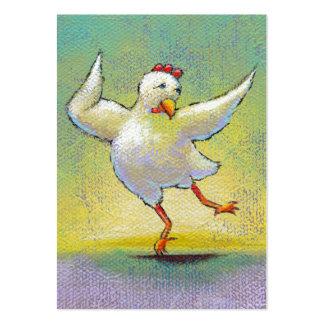 Bailarín feliz colorido lindo del arte de la diver plantillas de tarjetas personales