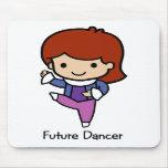 Bailarín futuro tapetes de ratones