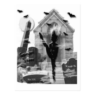 Bailarín grave postal