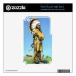 Bailarín indio del pueblo en traje ceremonial iPod touch 4G skins