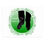 Bailarín irlandés del paso - varón postales