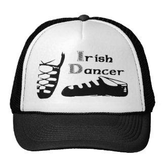 Bailarín irlandés Ghillies Gorros Bordados