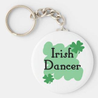 Bailarín irlandés llavero personalizado