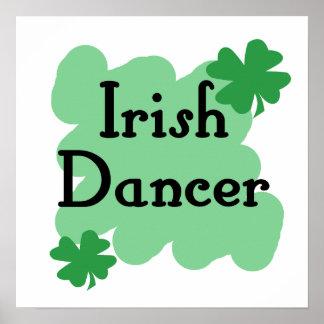 Bailarín irlandés impresiones