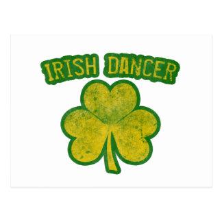 Bailarín irlandés postales