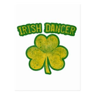Bailarín irlandés tarjetas postales