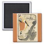 Bailarín Jane Avril, Toulouse Lautrec de Nouveau Imán Cuadrado