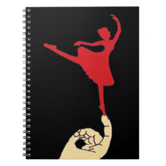 Bailarín minúsculo note book