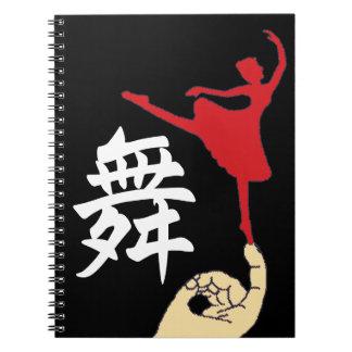 Bailarín minúsculo notebook