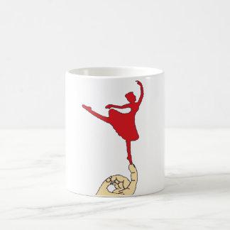 Bailarín minúsculo taza clásica