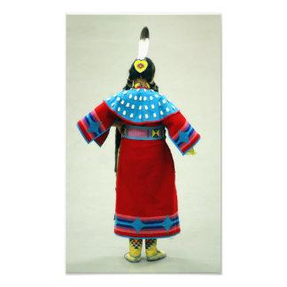Bailarín nativo impresión fotográfica