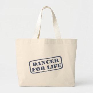 Bailarín para de la vida la danza del baile del ba bolsas