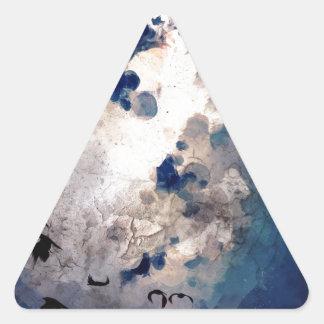 Bailarín Pegatina Triangular