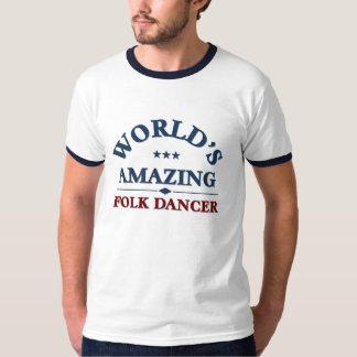 Bailarín popular asombroso playera