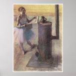 Bailarín que descansa, C. 1879-80, Edgar Degas Poster