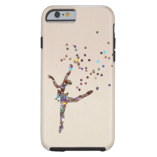 Bailarín reluciente funda de iPhone 6 tough