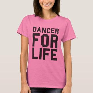 Bailarín rosado para la vida playera