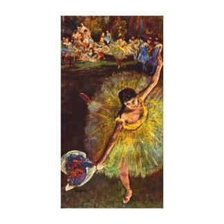 Bailarín Rosita Mauri 1877 Lona Envuelta Para Galerías