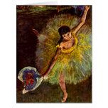 Bailarín Rosita Mauri 1877 Tarjeta De Felicitación Grande
