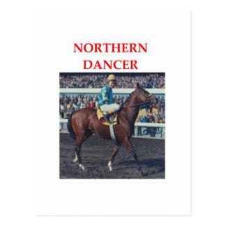 bailarín septentrional postal