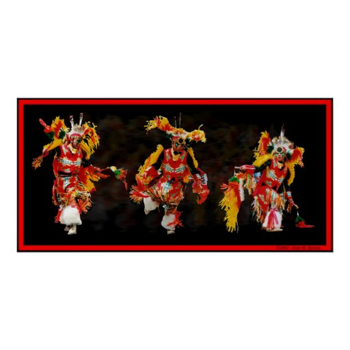 Bailarín tribal póster