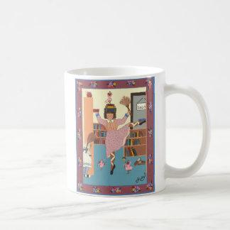 Bailarina 0070 el bibliotecario del baile tazas de café
