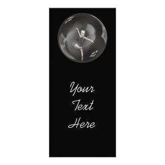 Bailarina 1 de la burbuja tarjetas publicitarias