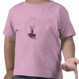 bailarina 2 de la burbuja 3D Camisetas
